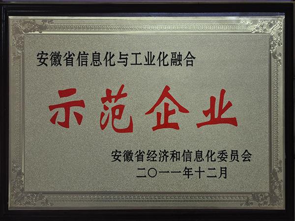 安徽省两化融合企业