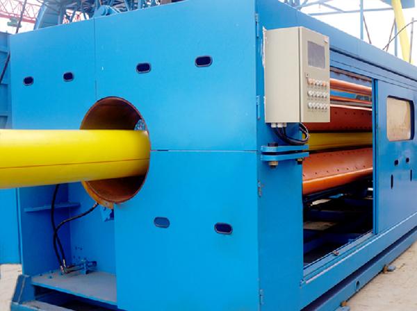 SPV 内管挤出外管包覆挤出生产线